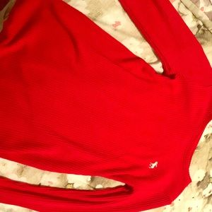 abercrombie kids Shirts & Tops - red long sleeve top from abercrombie kids